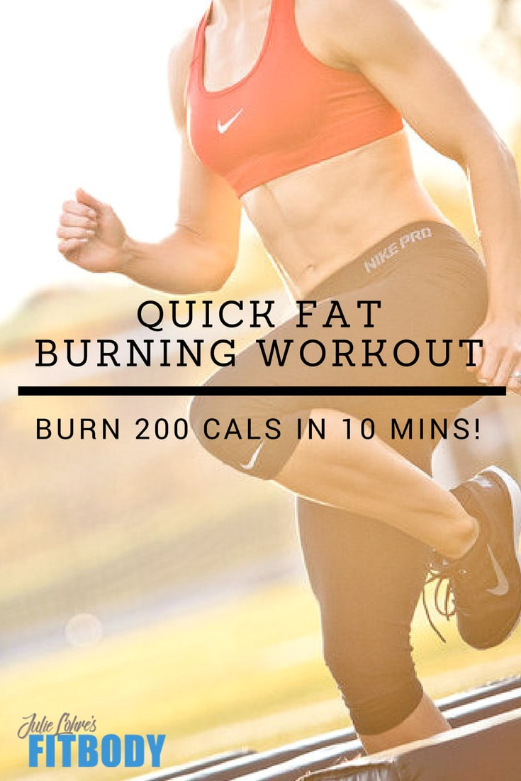 Quick Fat Burning Workout HIIT for Women