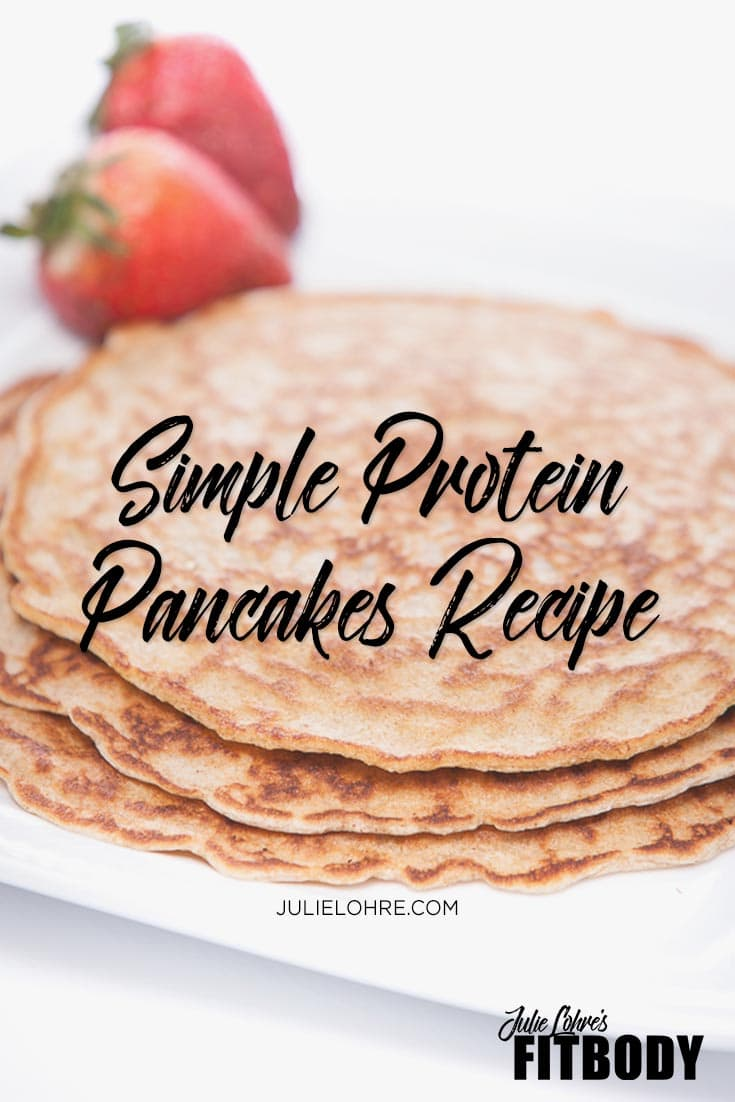 Easy Protein Pancakes Recipe