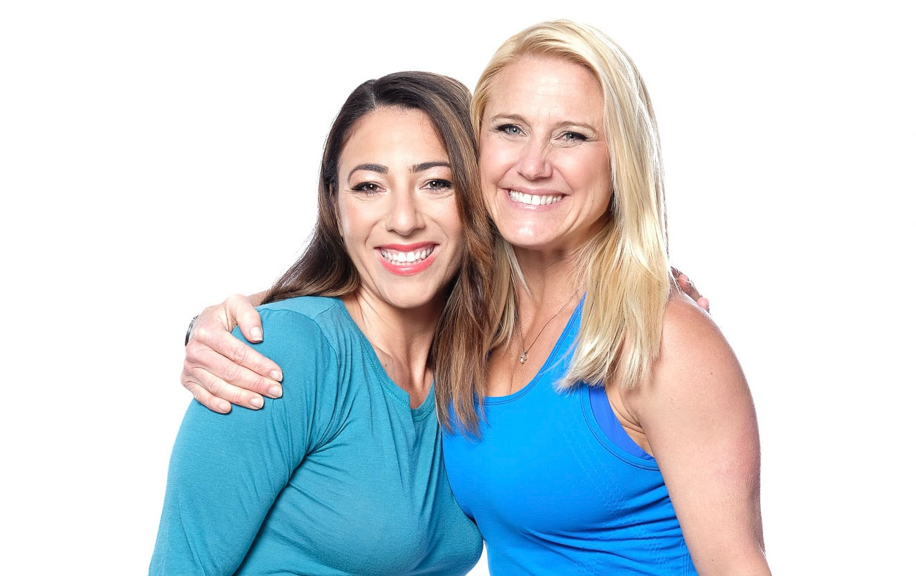 Julie Lohre with Online Training Client Ornella Grosz