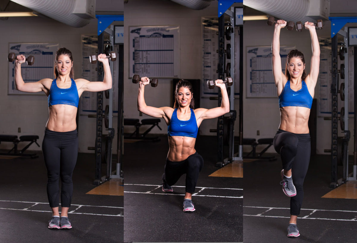 Lift Off Lunge