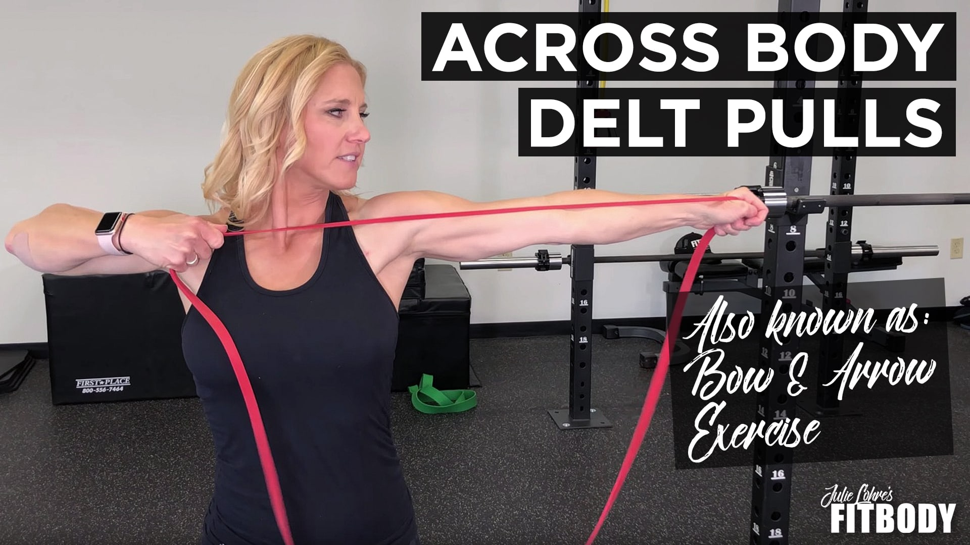 Bow And Arrow Exercise - Across Body Delt Pulls