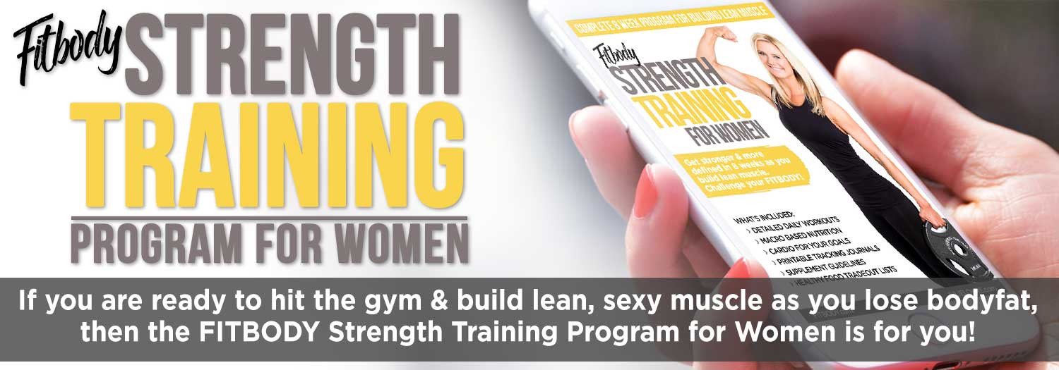 Weight lifting routine for women