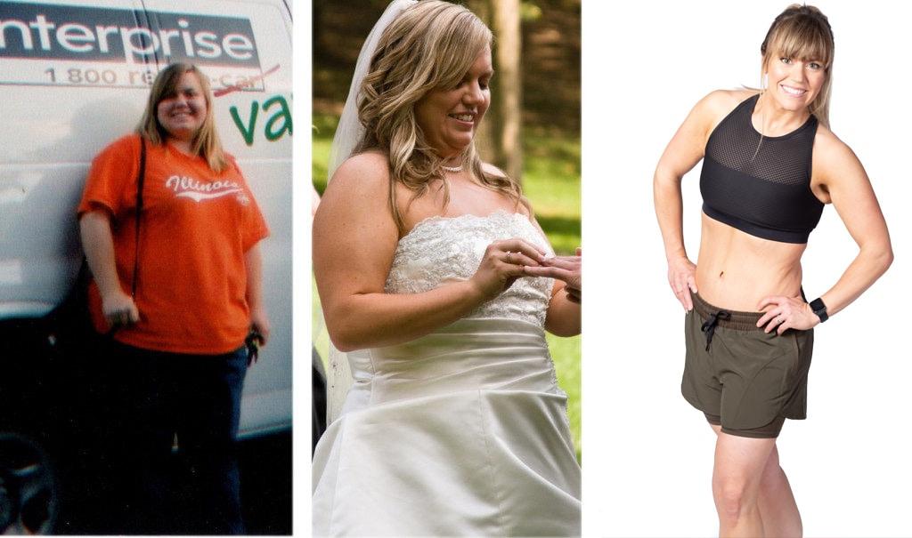 Amanda Valentine lost 117 lbs over 6 years