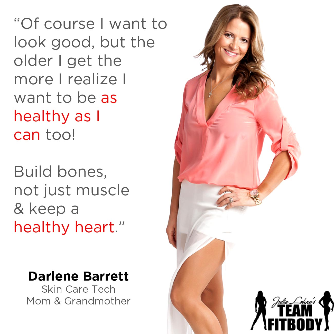 Fitness Motivation Darlene Barrett