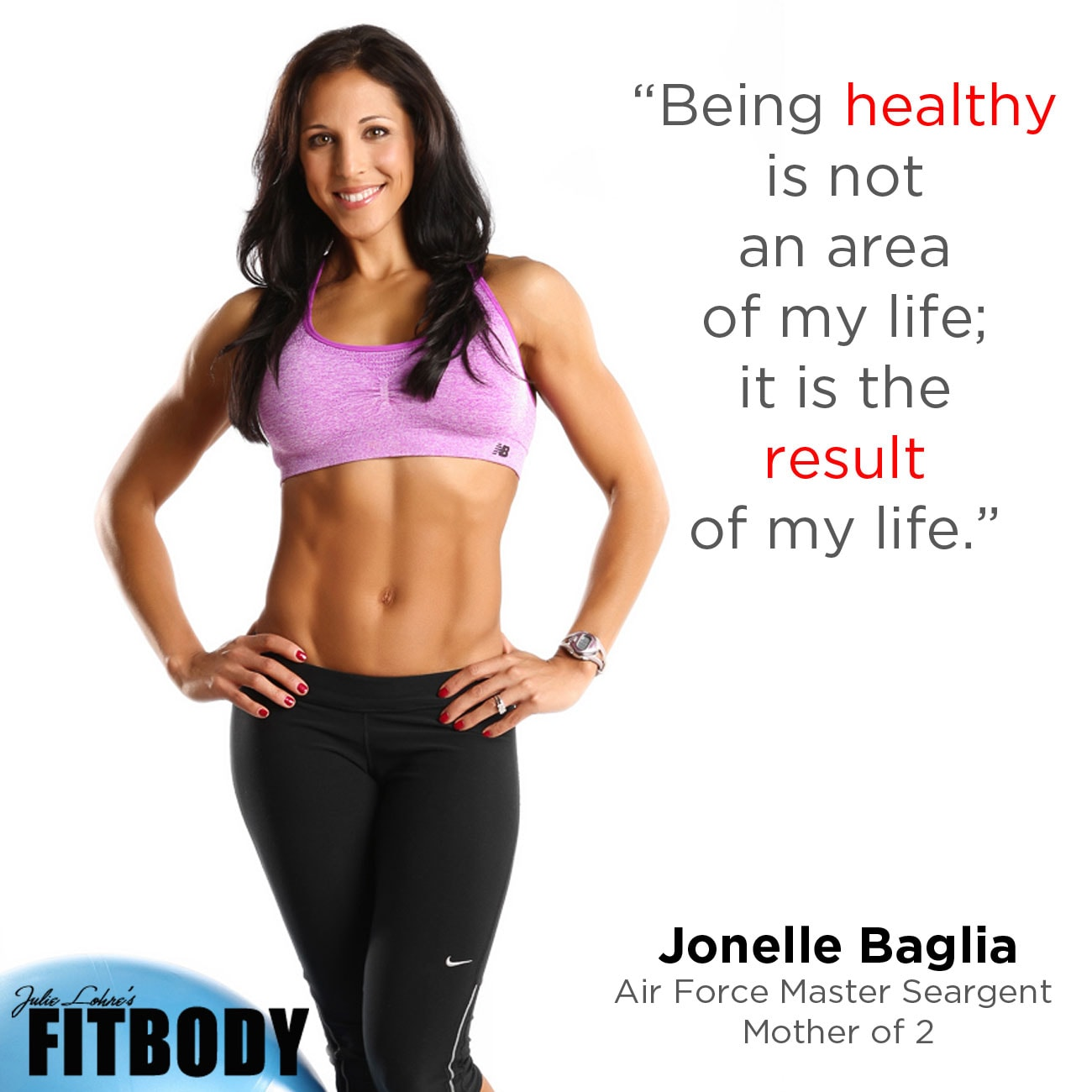 Fitness Motivation Jonelle Baglia