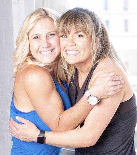 Amanda Valentine with Julie Lohre