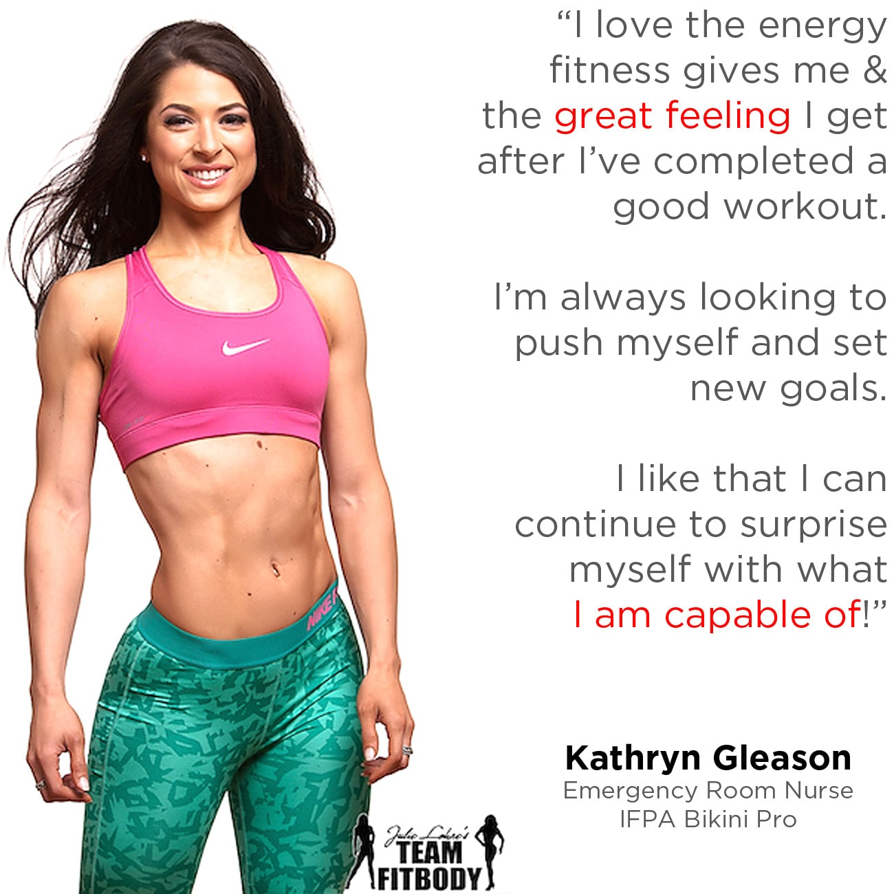 Fitness Motivation Kathryn Gleason