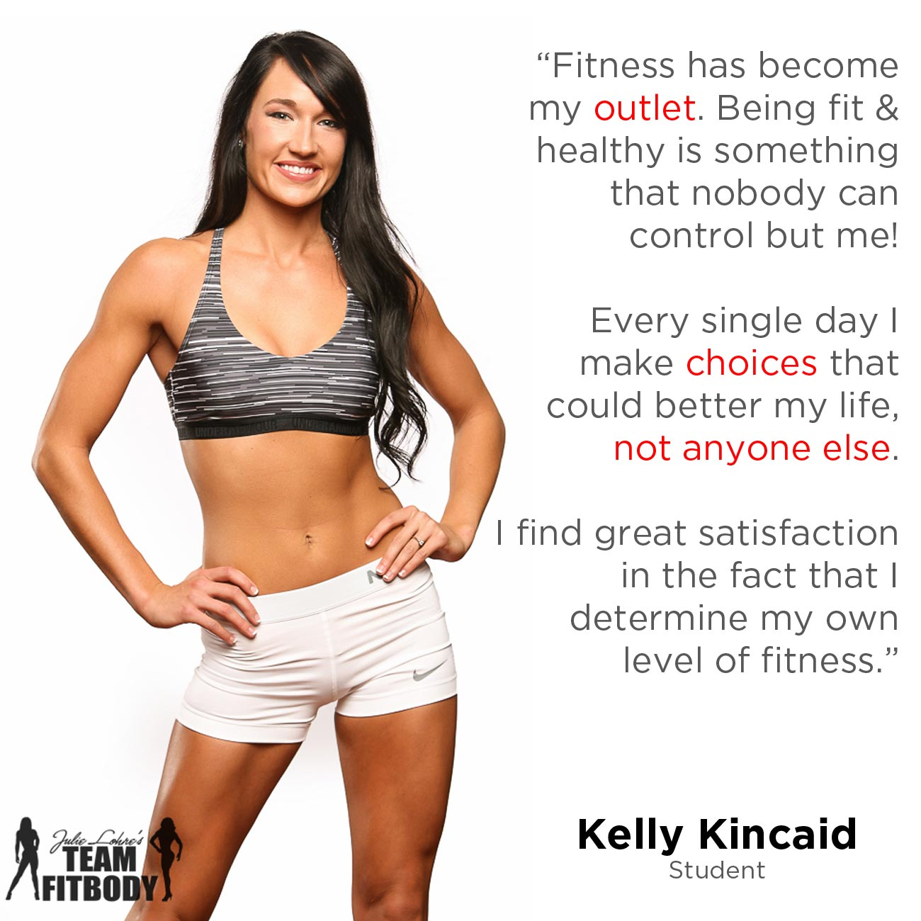 Fitness Motivation Kelly Kincaid