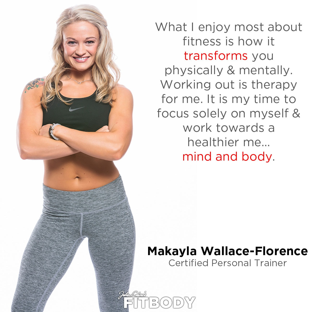 Fitness Motivation Makyla Florence