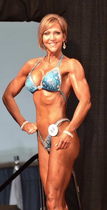 Masters Figure Competition Competitor Melissa Jackson