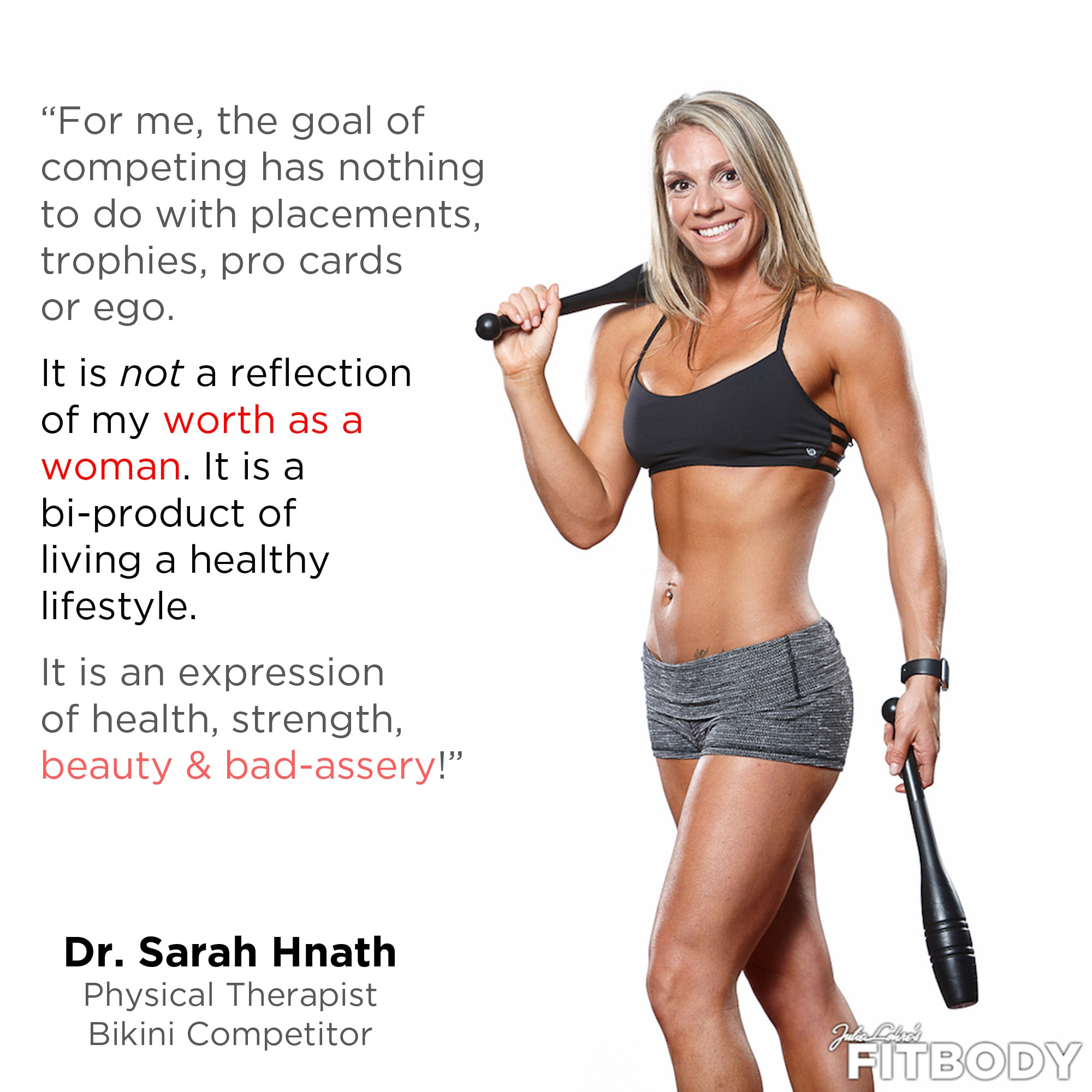 Fitness Motivation Dr. Sarah Hnath