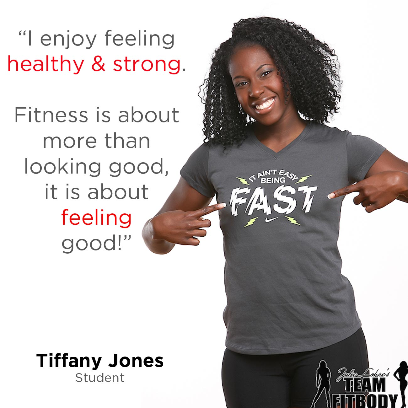 Fitness Motivation Tiffany Jones