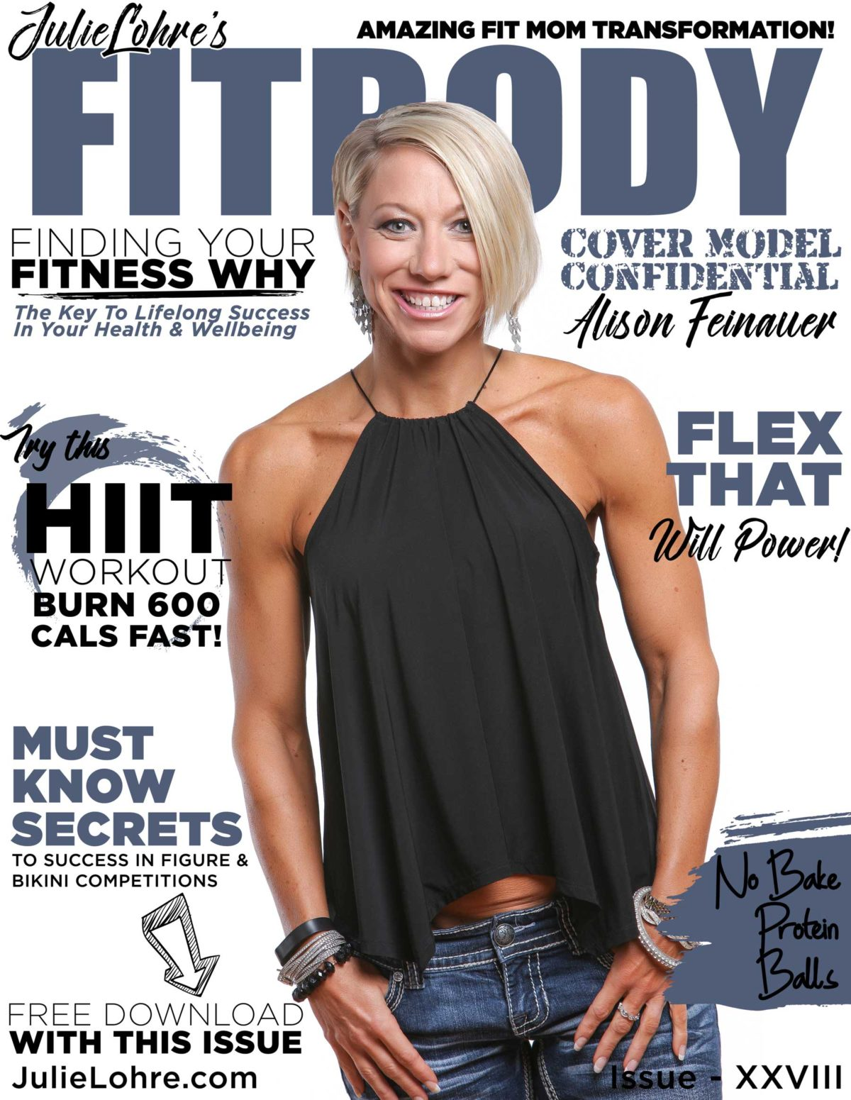 FITBODY Magazine XXVVIII Fit Mom Transformation