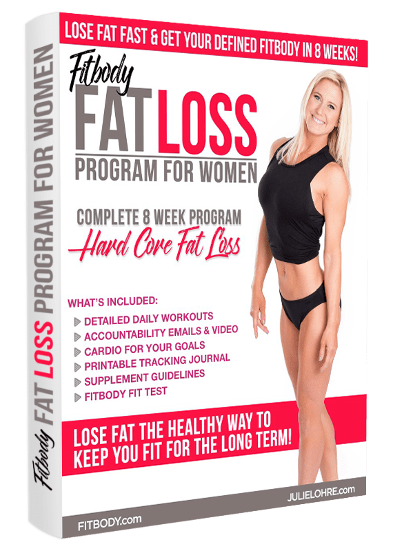 Fat Loss Competition Plan for Women