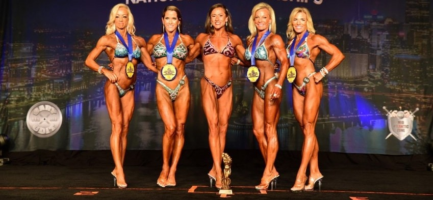 Masters Figure Female Figure Competitors over 50