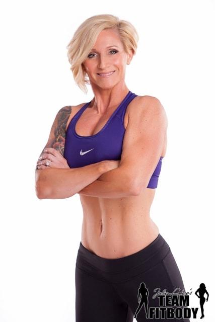 Leslie Hambrick IFBB Masters Figure Pro