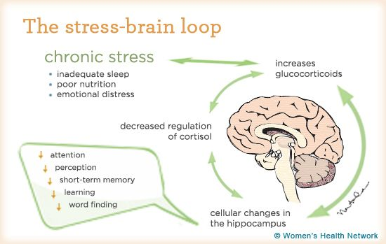 Stress and willpower
