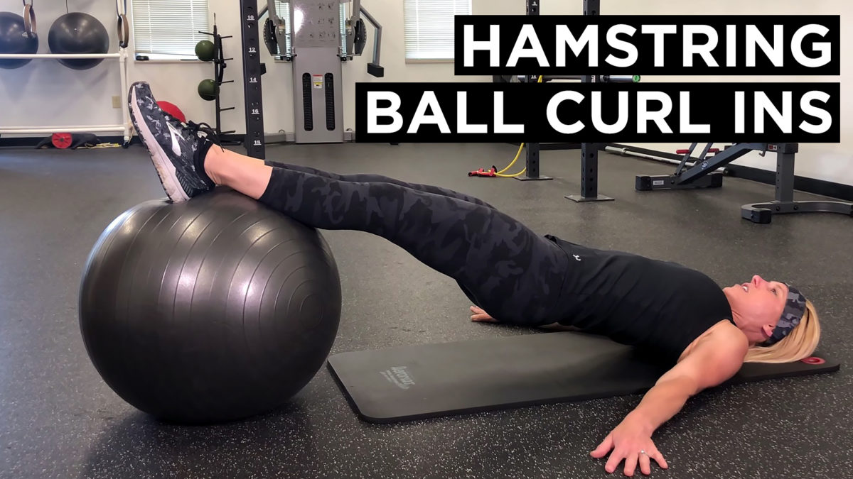 Hamstring ball curl ins