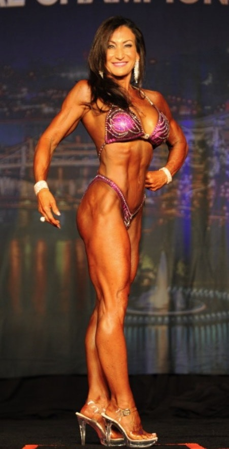 Jo Carril IFBB Figure Pro Female Figure Competitor Over 50