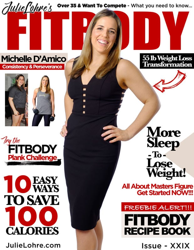Fitbody Magazine XXIX Michelle DAmico