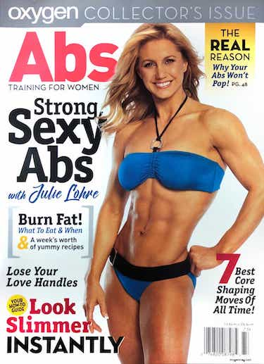 Oxygen Magazine with Julie Lohre Online Personal Training
