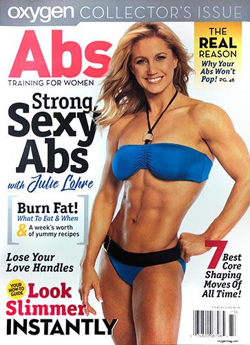 Julie Lohre Oxygen Magazine