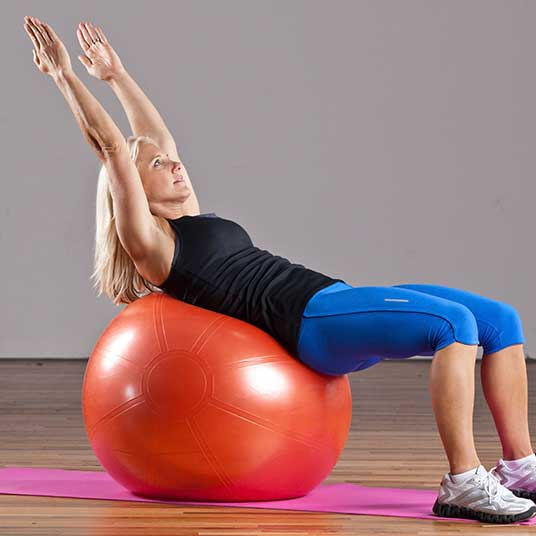Exercise-Ball-Crunch
