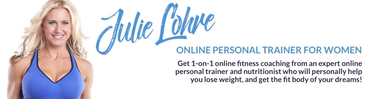 Julie Lohre Online Personal Trainer for Women