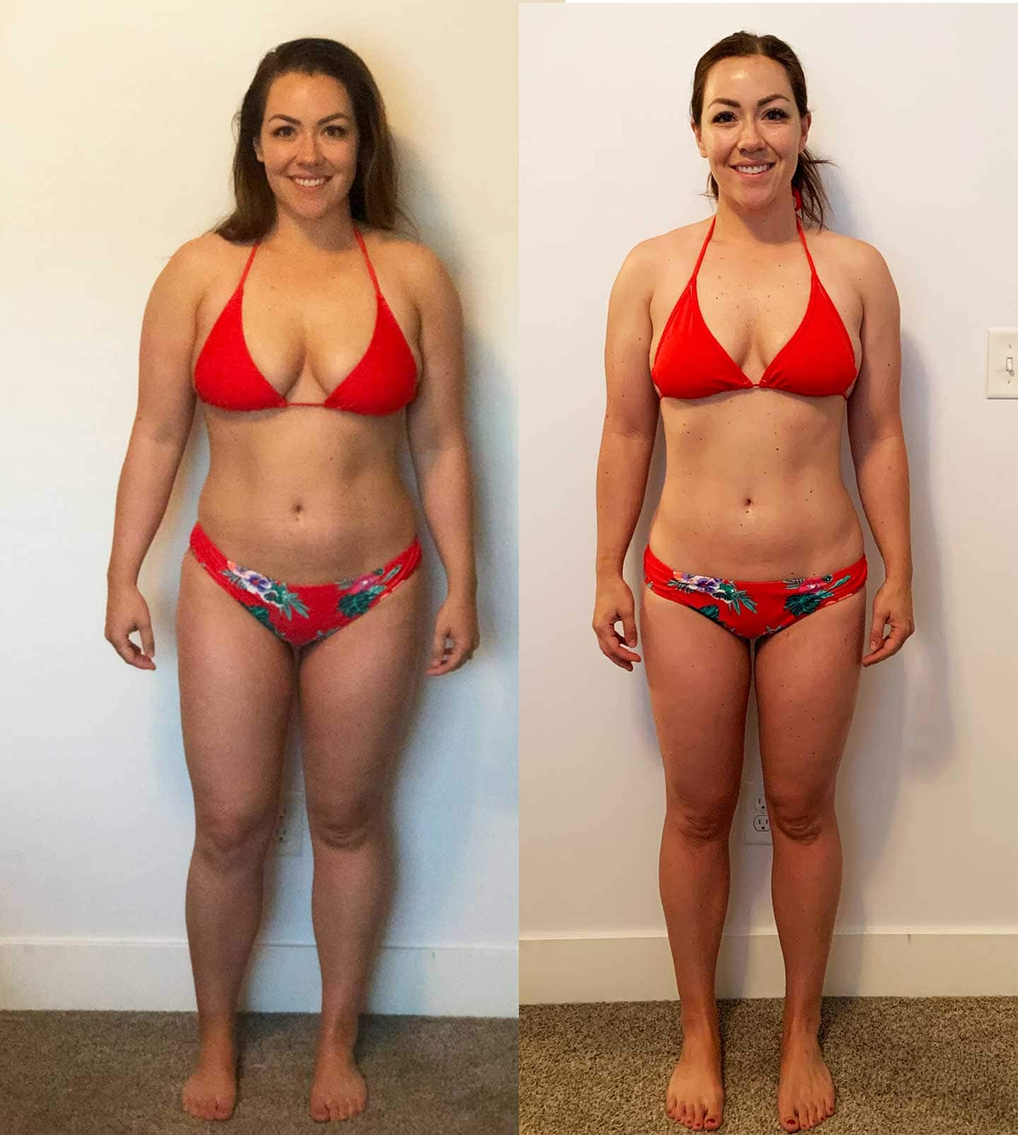 Postpartum Transformation 8 weeks weight loss