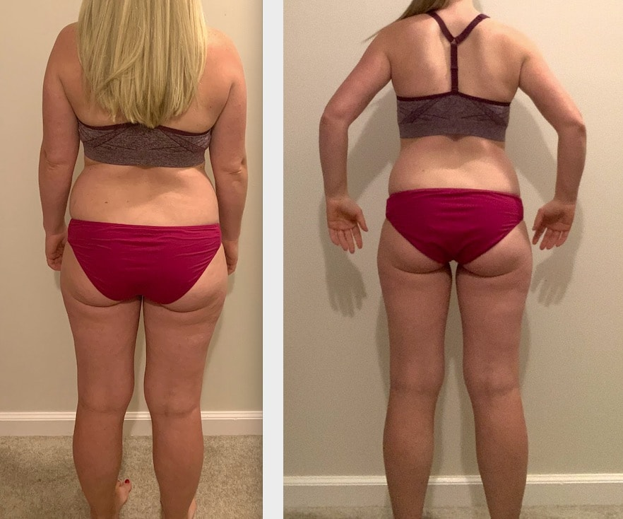 8 Week Diet Plan before and after