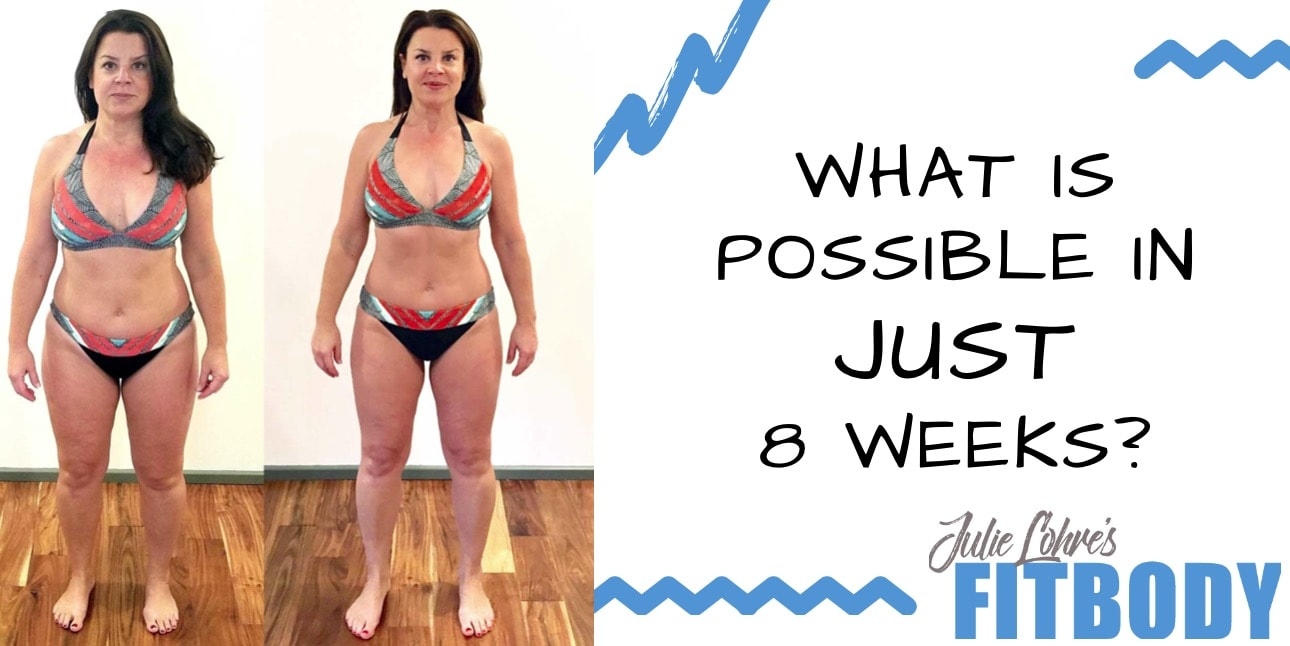 8 Week Weight Loss Results Lauren Ottani
