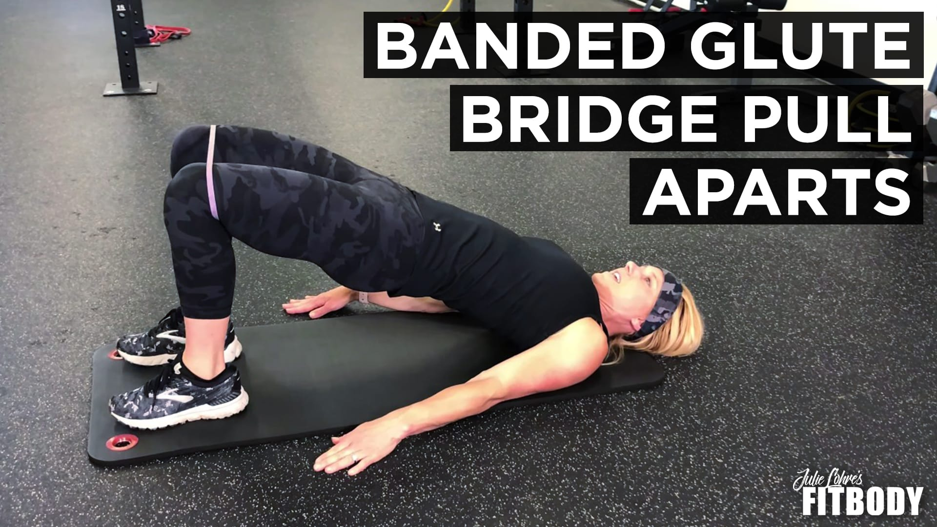Band Glute Activation Exercise