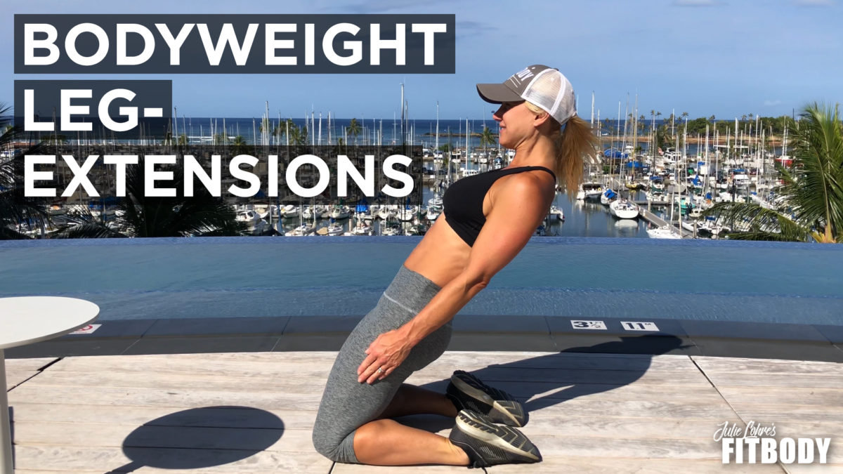 Bodyweight leg Extensions