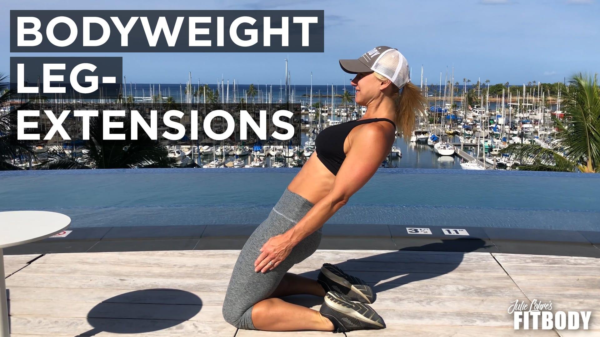 Bodyweight Leg Extensions