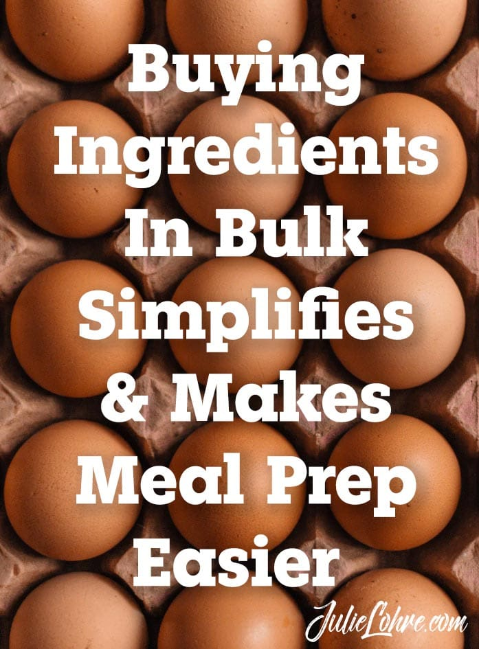 Bulk Ingredients for Meal Prep