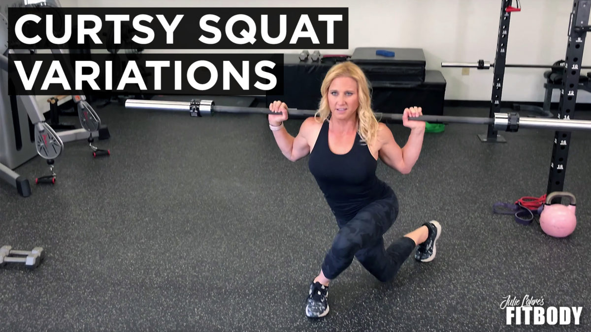 Curtsy Squat Lunge Variations