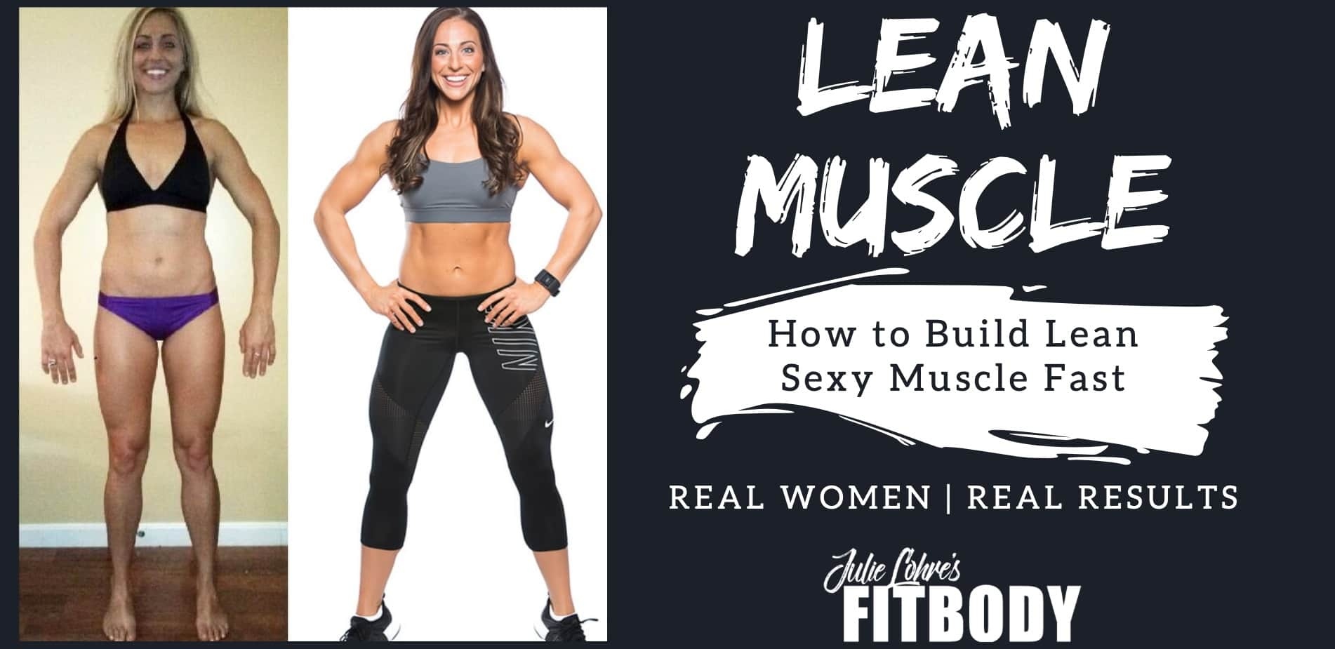 How to build lean muscle for women
