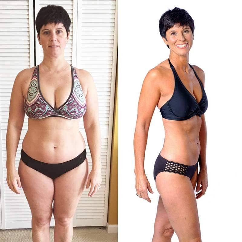 Skinny fat transformation female