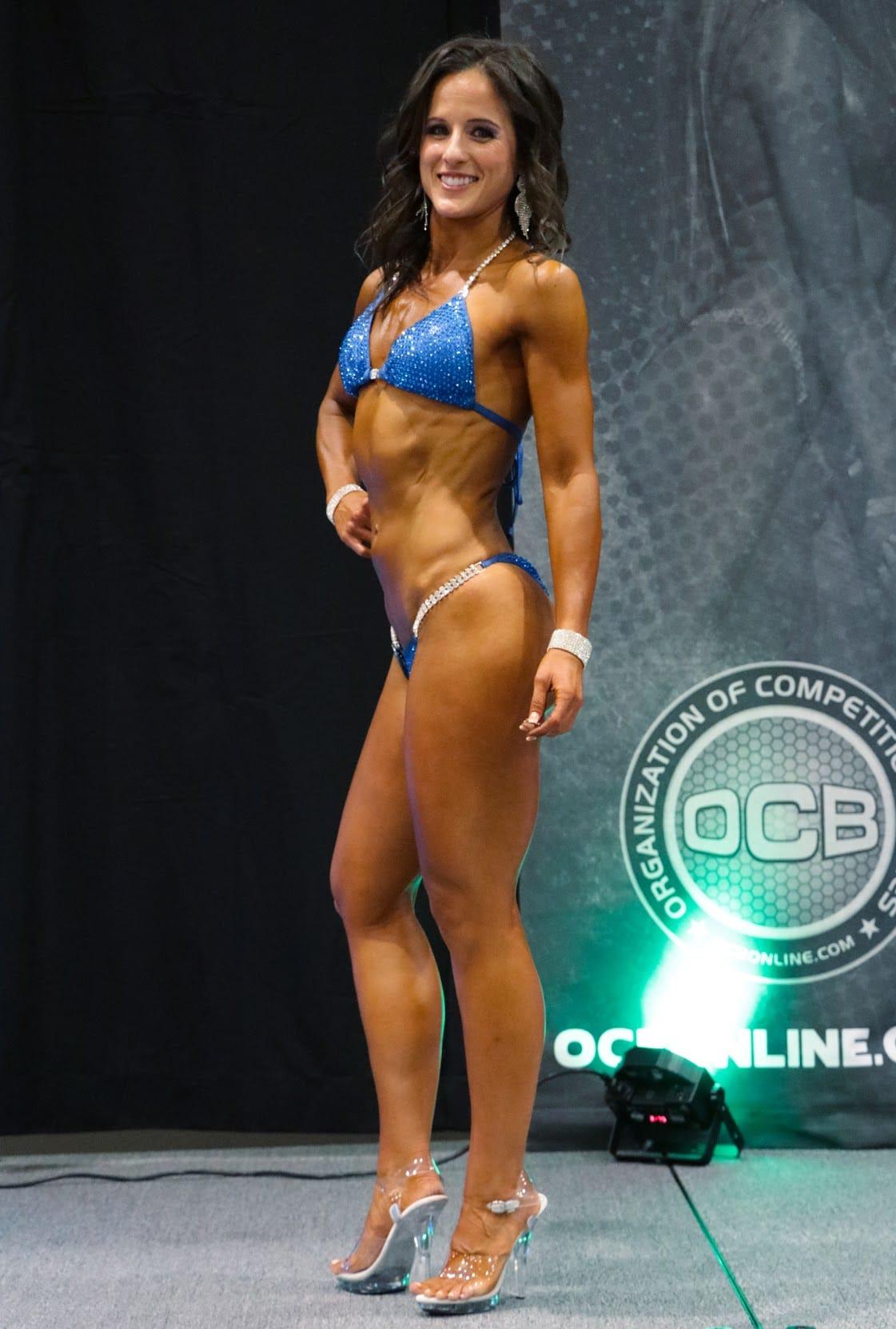 Women's Bodybuilding Bikini Division Competitor