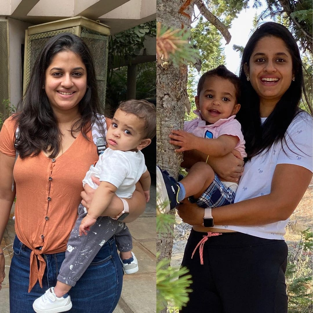 Post Partum New Mom Weight Loss Transformation