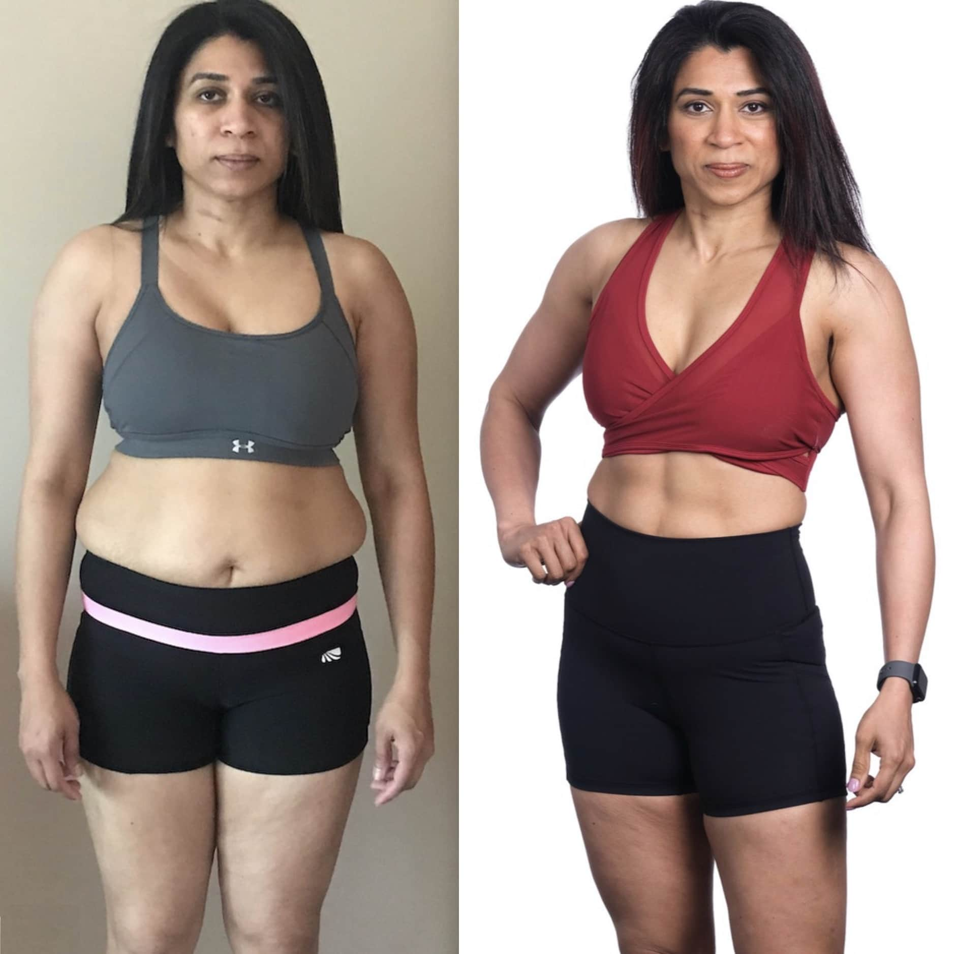 25 pound weight loss before and after