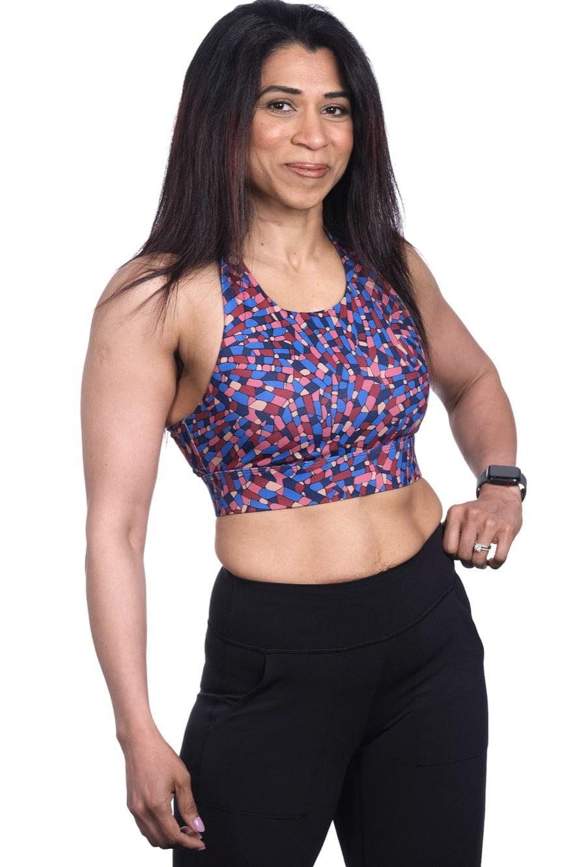 Radha Burtch 25 lb weight loss female